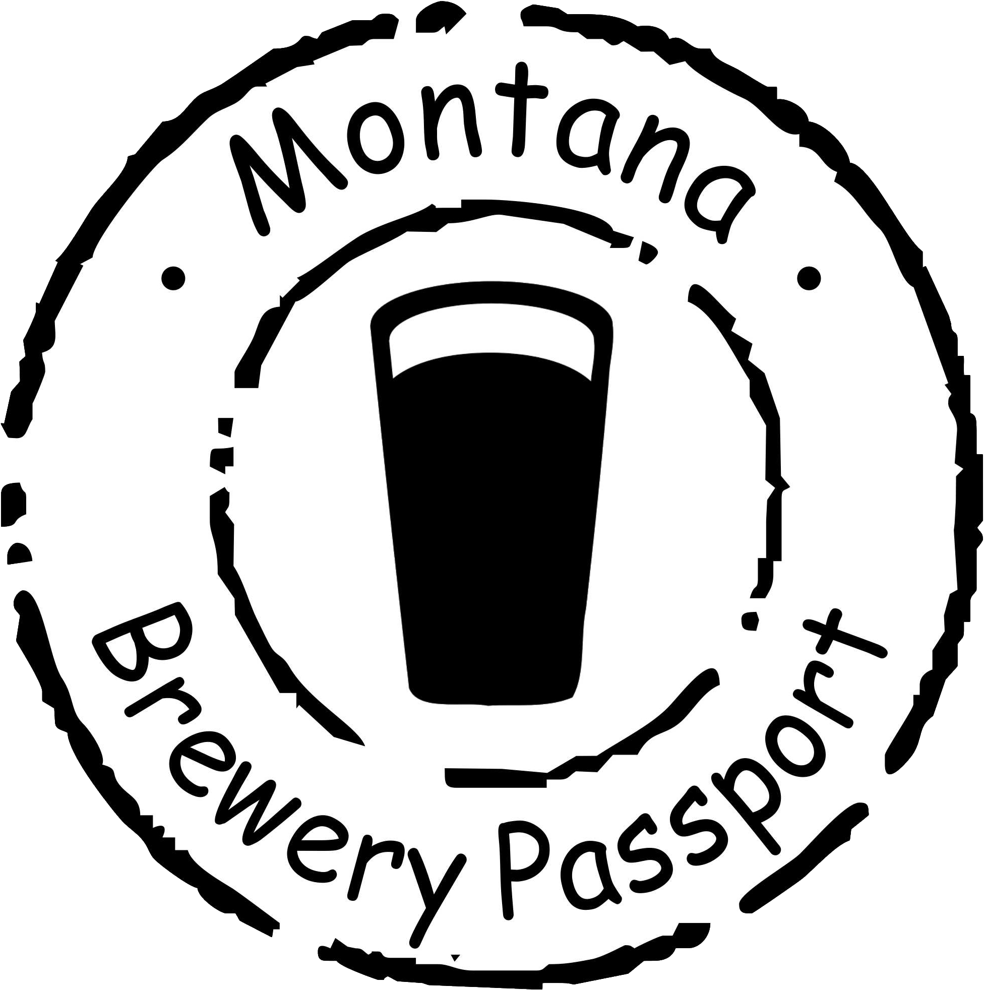 MT Brew Passport Sticker